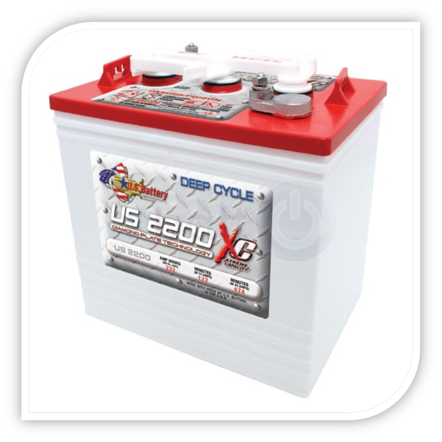 GOLFKAR ACCU GOLFKAR DEEP CYCLE US 2200 US2200 US BATTERY DEEP CYCLE